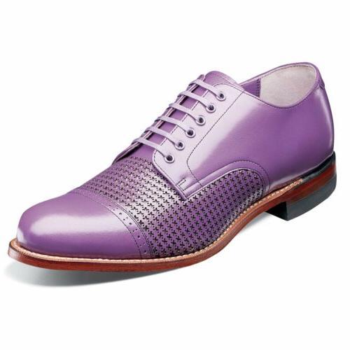 madison lavender cap toe oxford dress shoes