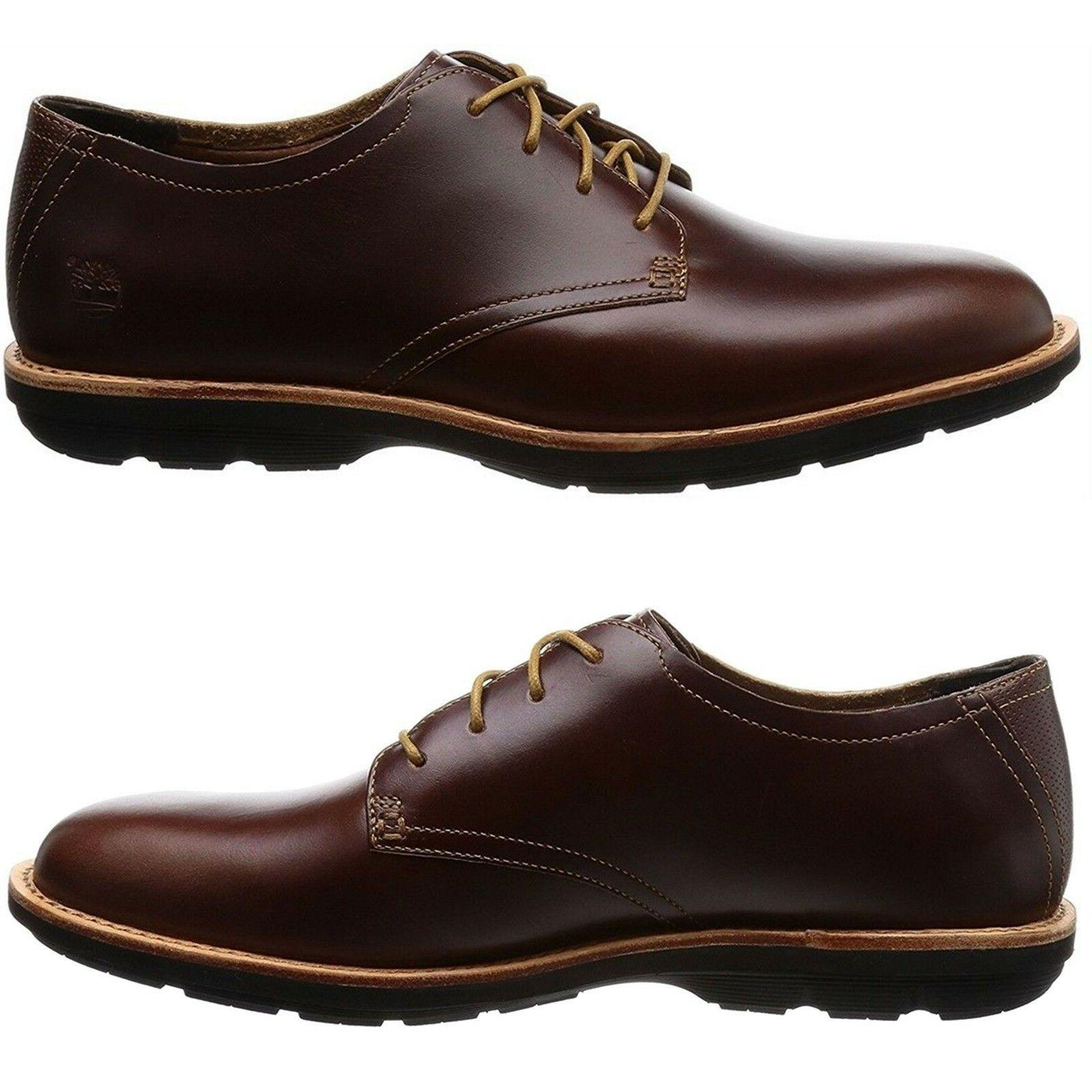Timberland Men Casual Kempton Climapath Brown Solid Leather