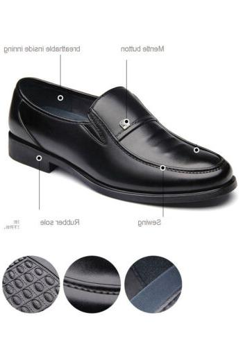 Men Comfort Loafers Shoes Oxford Slip On