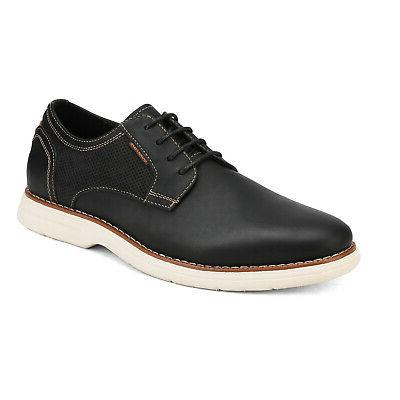 Bruno Men Leather Up Sneakers Dress Shoe