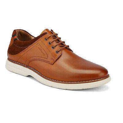 Bruno Marc Leather Oxford Lace Sneakers Casual Wingtip Shoe