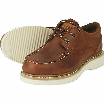 Moc Toe Oxford Shoes - Brown