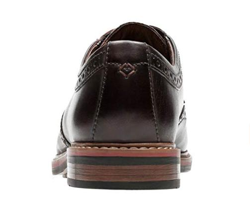 Bostonian Men's Oxford Burgundy Leather Dress Shoes 26122133
