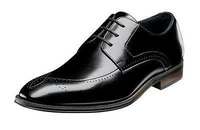 Stacy Adams Men's Ballard Plain Toe Lace-up Oxford - Black