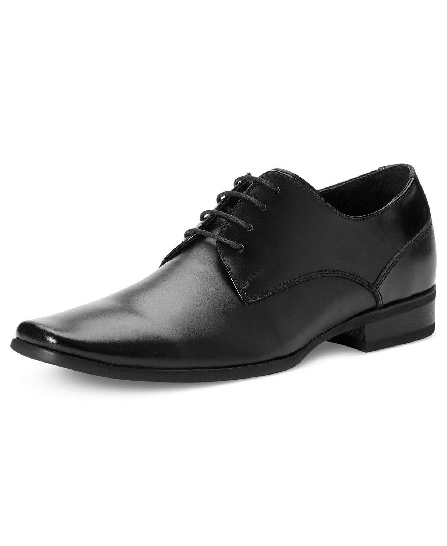 Calvin Klein Men's Brodie Oxford Shoes Black Size 10.5US Ret