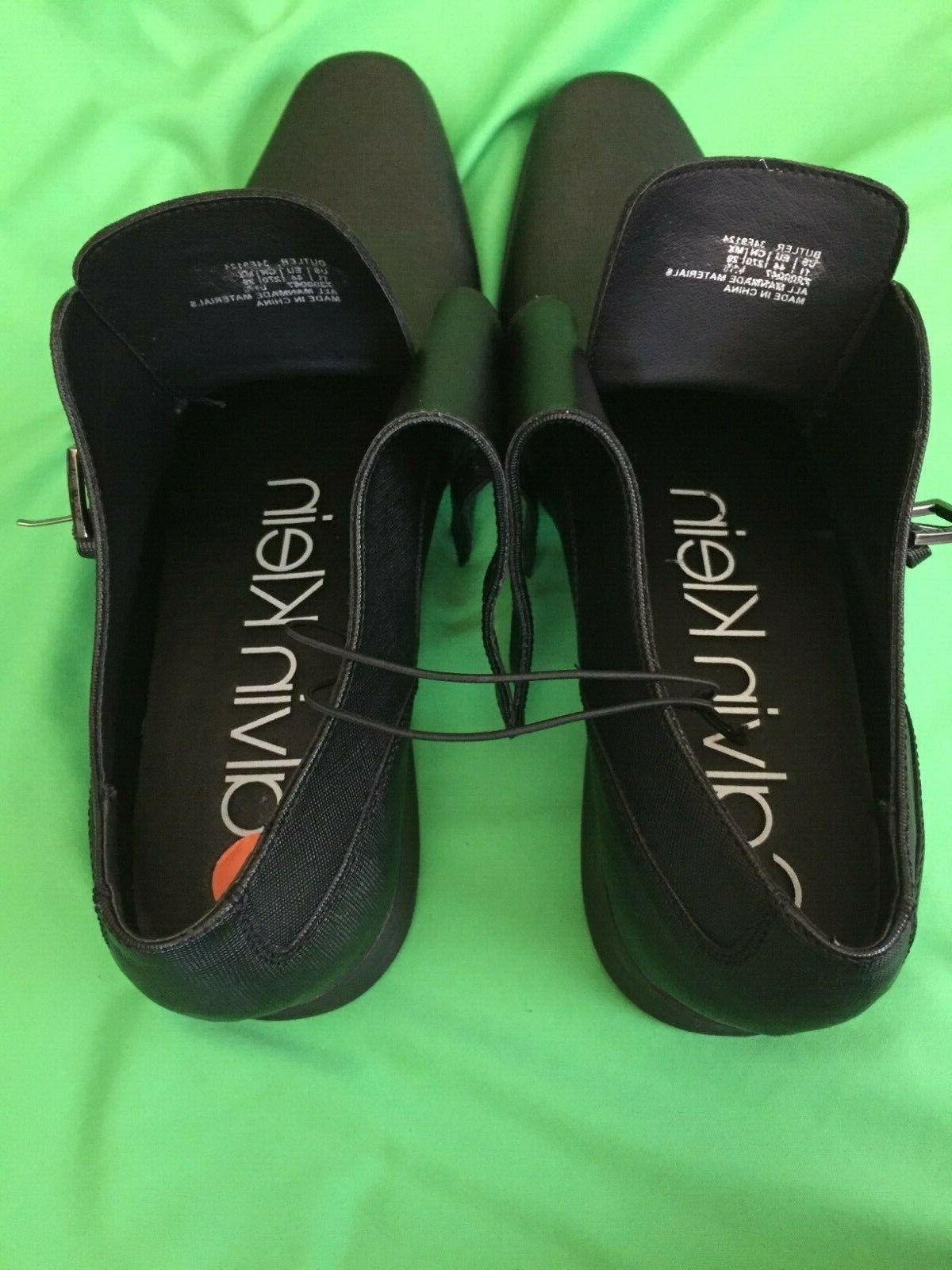 Calvin Black Shoes Size 11