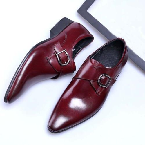 Men's Oxfords Leather Casual Toe