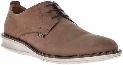 men s contoured plain toe tie oxford