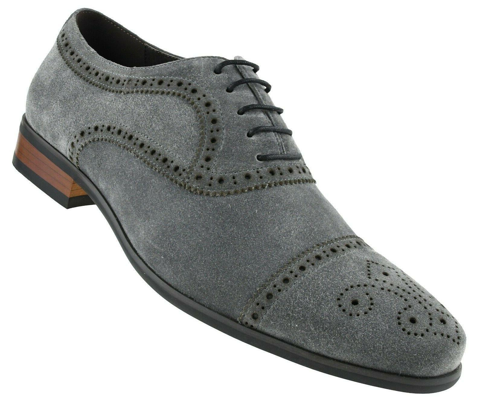 Men's Cow Suede Dress Shoe