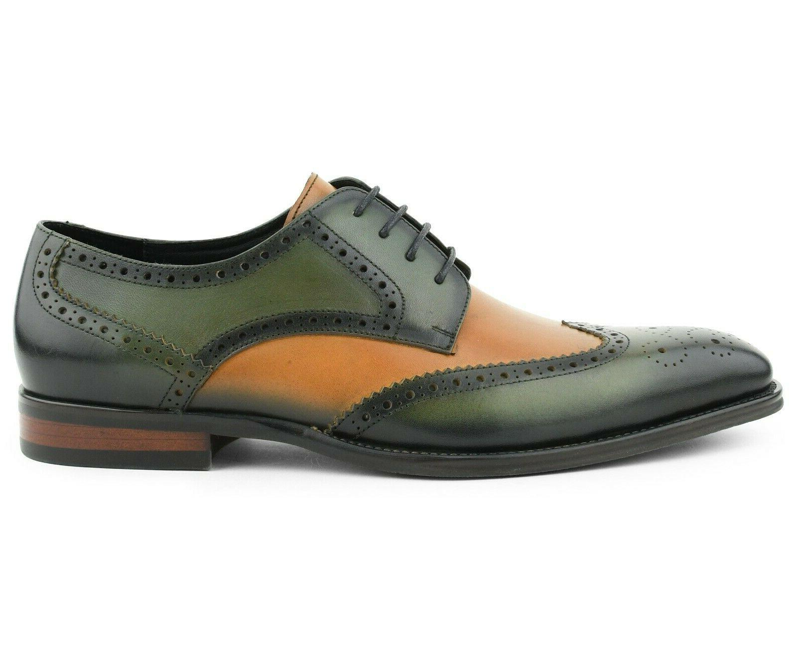 Men's Genuine Leather for Multi Oxfords