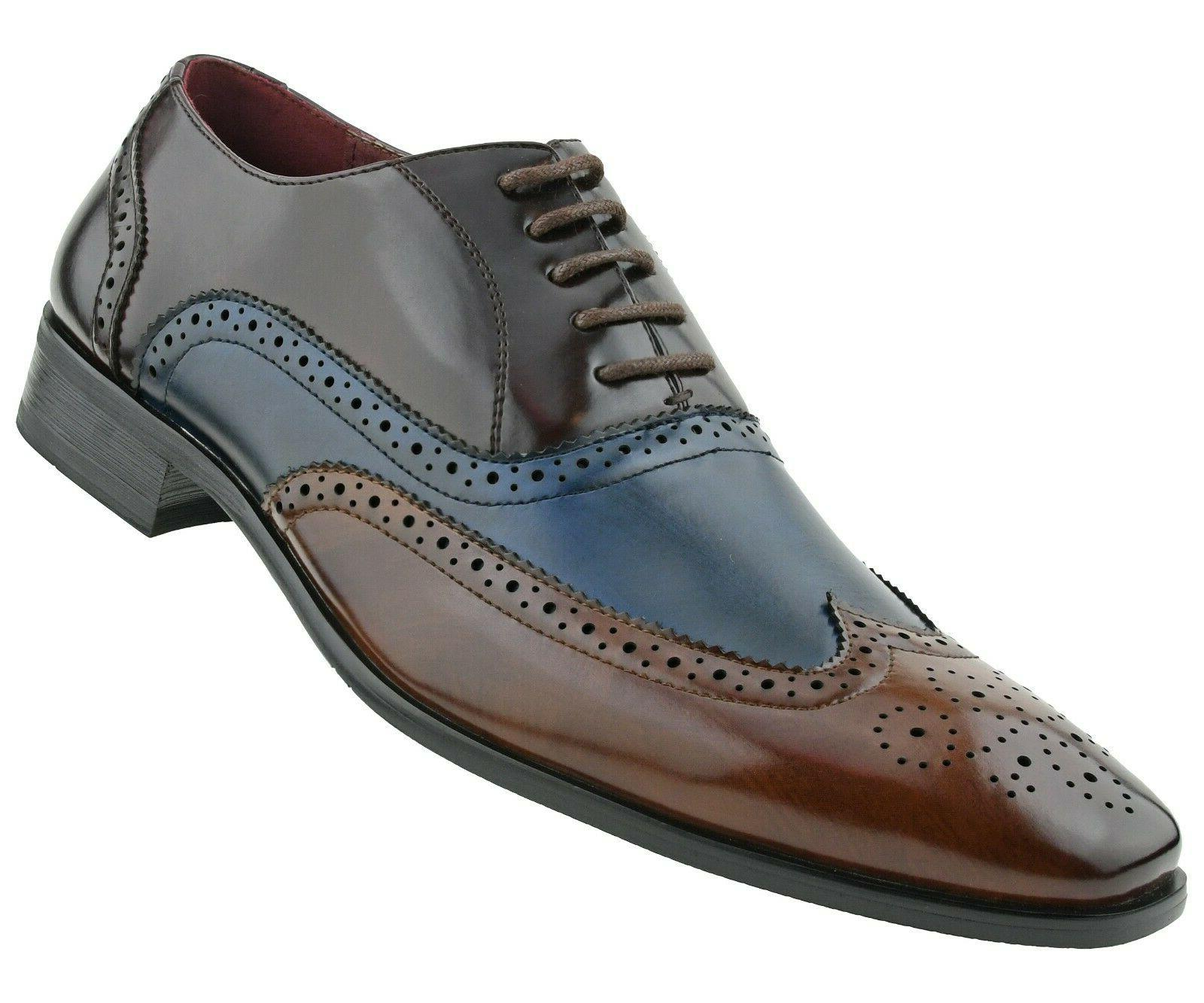 Men's Shoes Manmade Wing-Tip Shoes