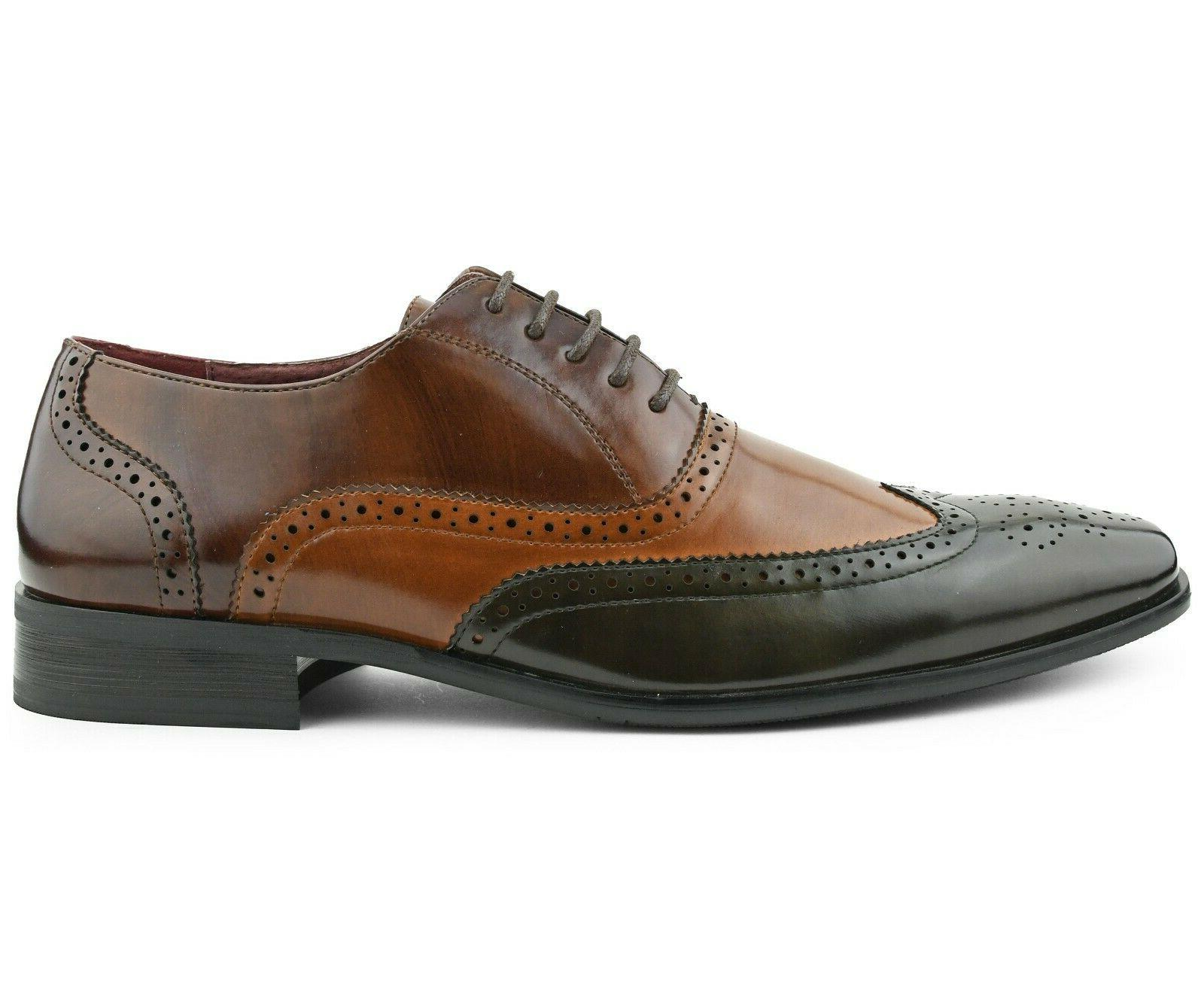 Men's Manmade Lace Up Mens Dress Shoes