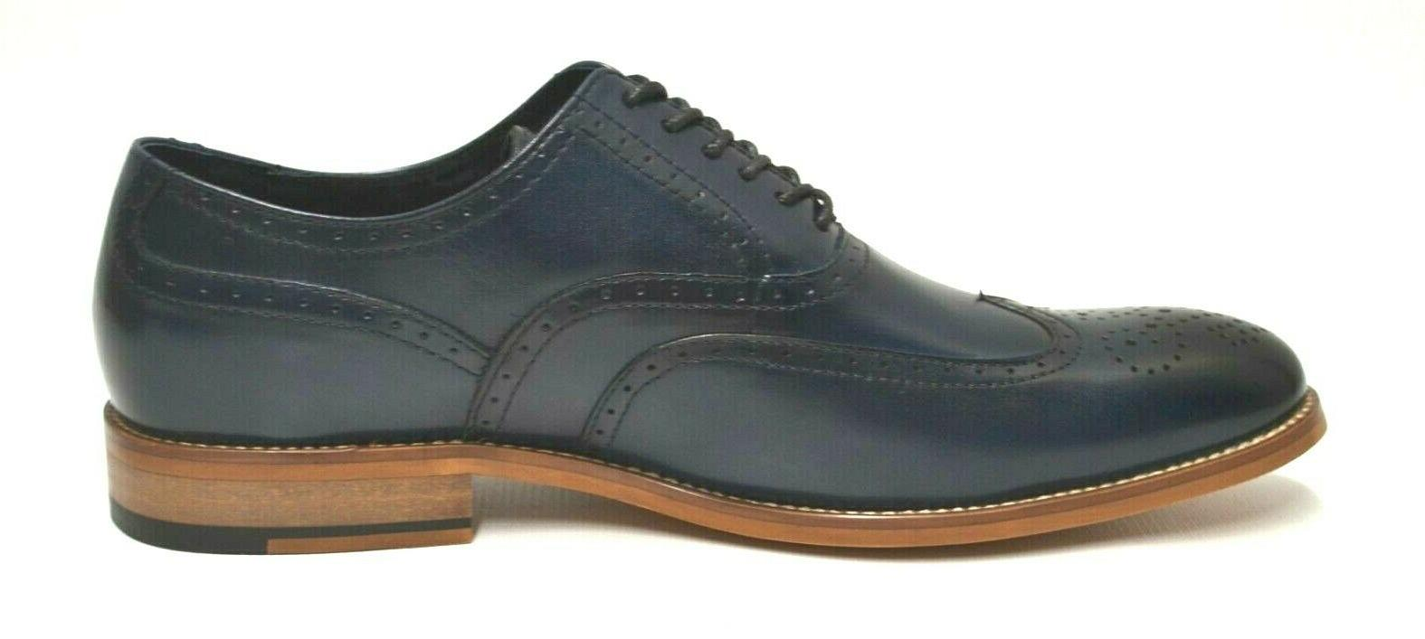 Men's Stacy Navy Oxford Shoes