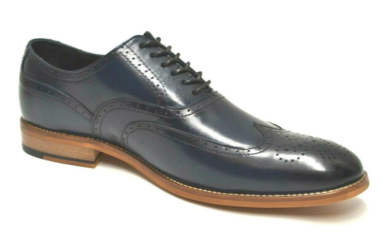 Men's Dunbar Navy Oxford Shoes