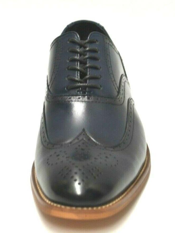 Men's Navy Dress Shoes