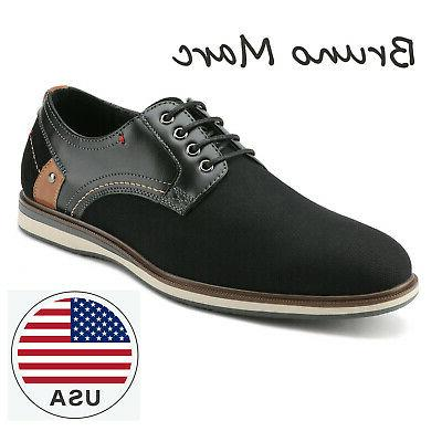 men s fashion lace up round toe