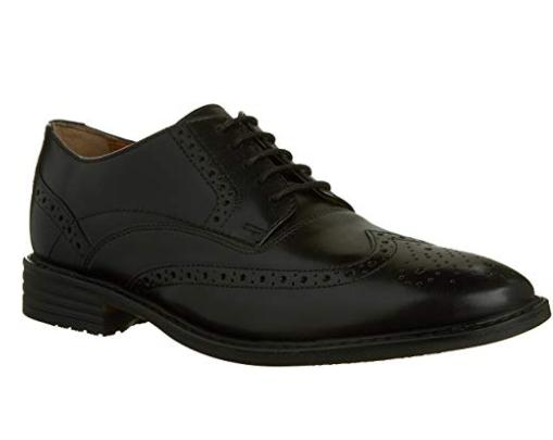 men s garvan edge oxford black leather