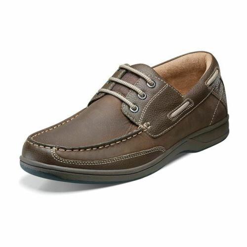 men s lakeside oxford boat shoe stone