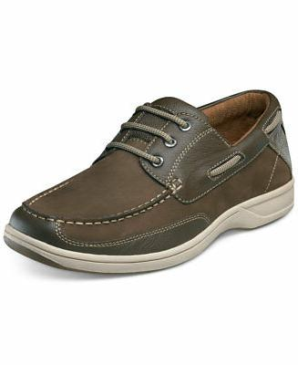 men s lakeside oxford leather brown shoes