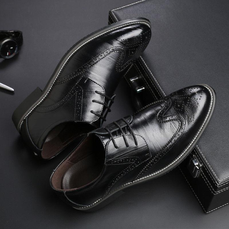 Men's Oxfords Formal up Tip Shoes