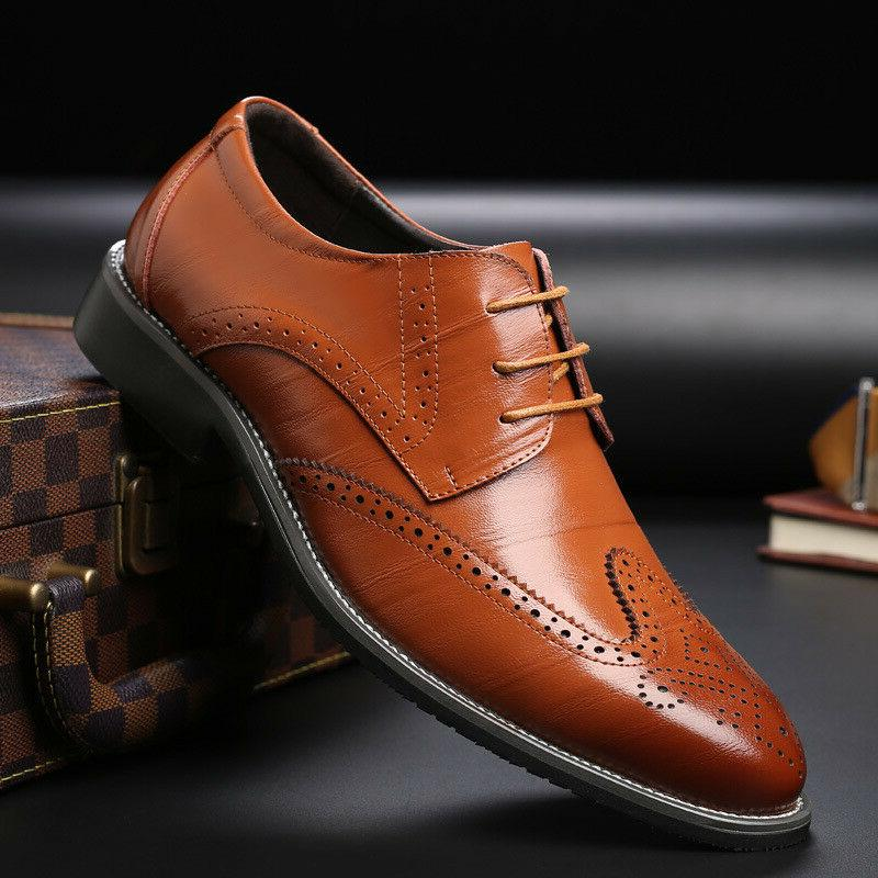 Men's Oxfords Formal Casual up Shoes