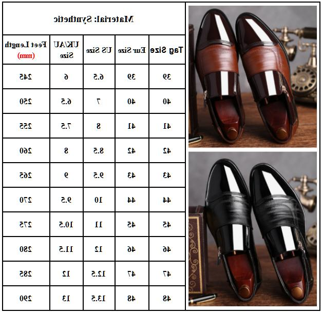 Mens Oxfords Leather Wedding Dress Business Office