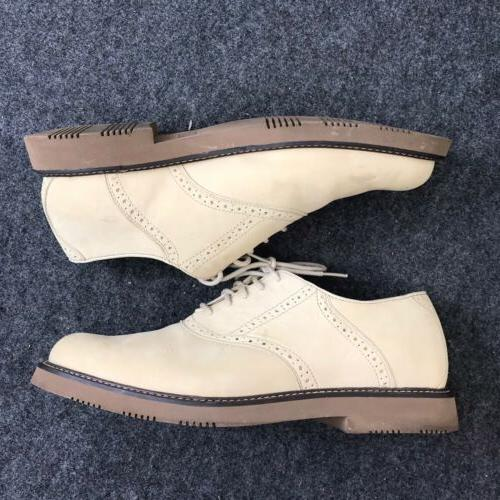 men s saddle oxford shoes leather size