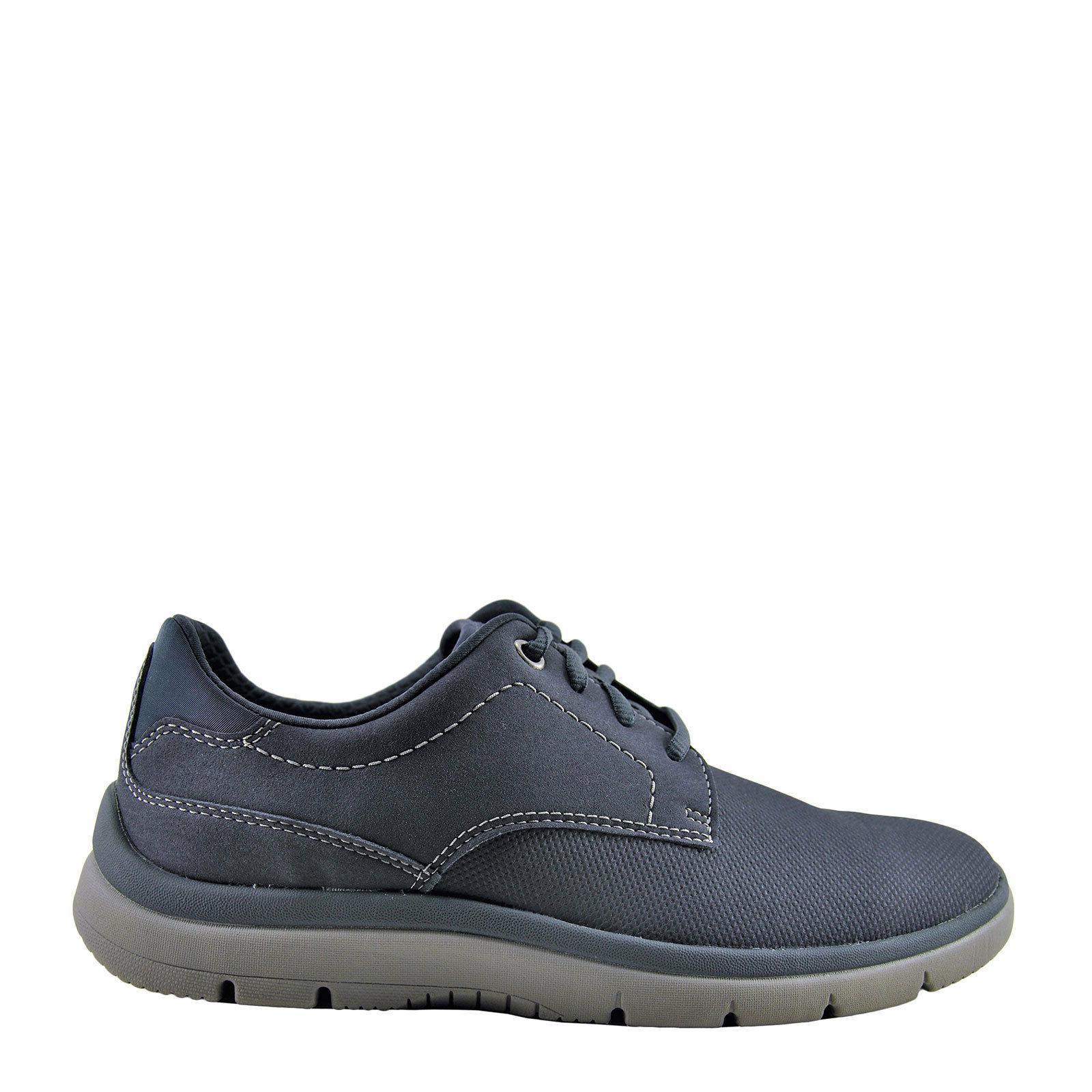 Clarks Tunsil Plain Navy Men's Oxford Fashion Sneaker 27760