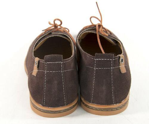 Dadawen Suede Oxford Wingtip Lace Dress Shoe US Size
