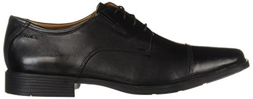 Clarks Oxford Shoe,Black Leather,10.5 US