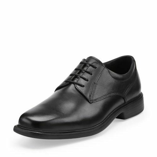 men s wendell oxford black leather comfortable