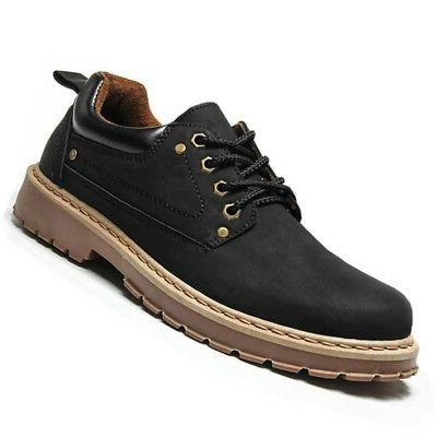 YJP Men's Shoes Work Boots