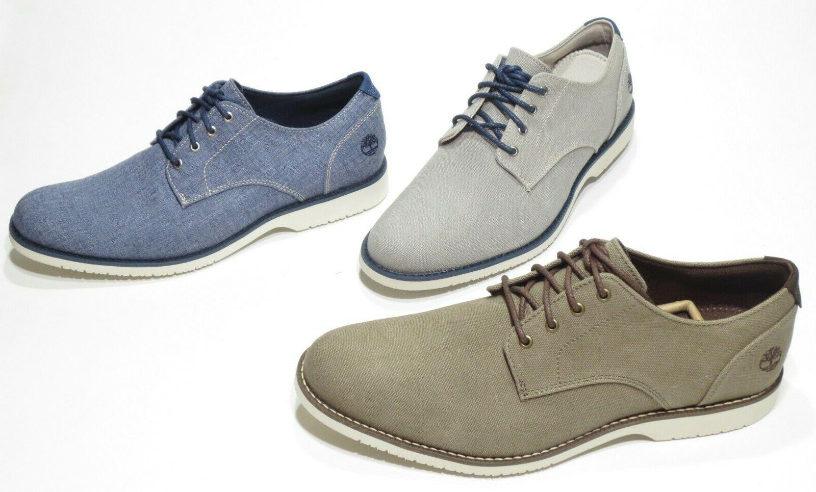 Timberland Oxford with Foam, Blue Olive
