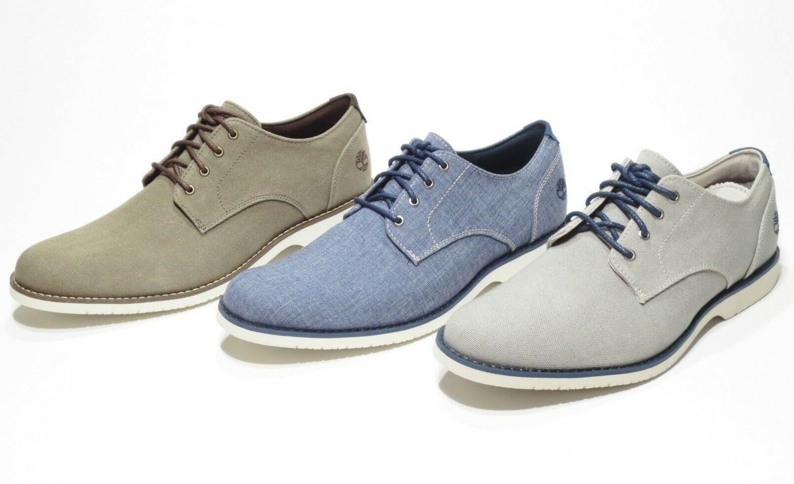 Timberland Oxford with Blue