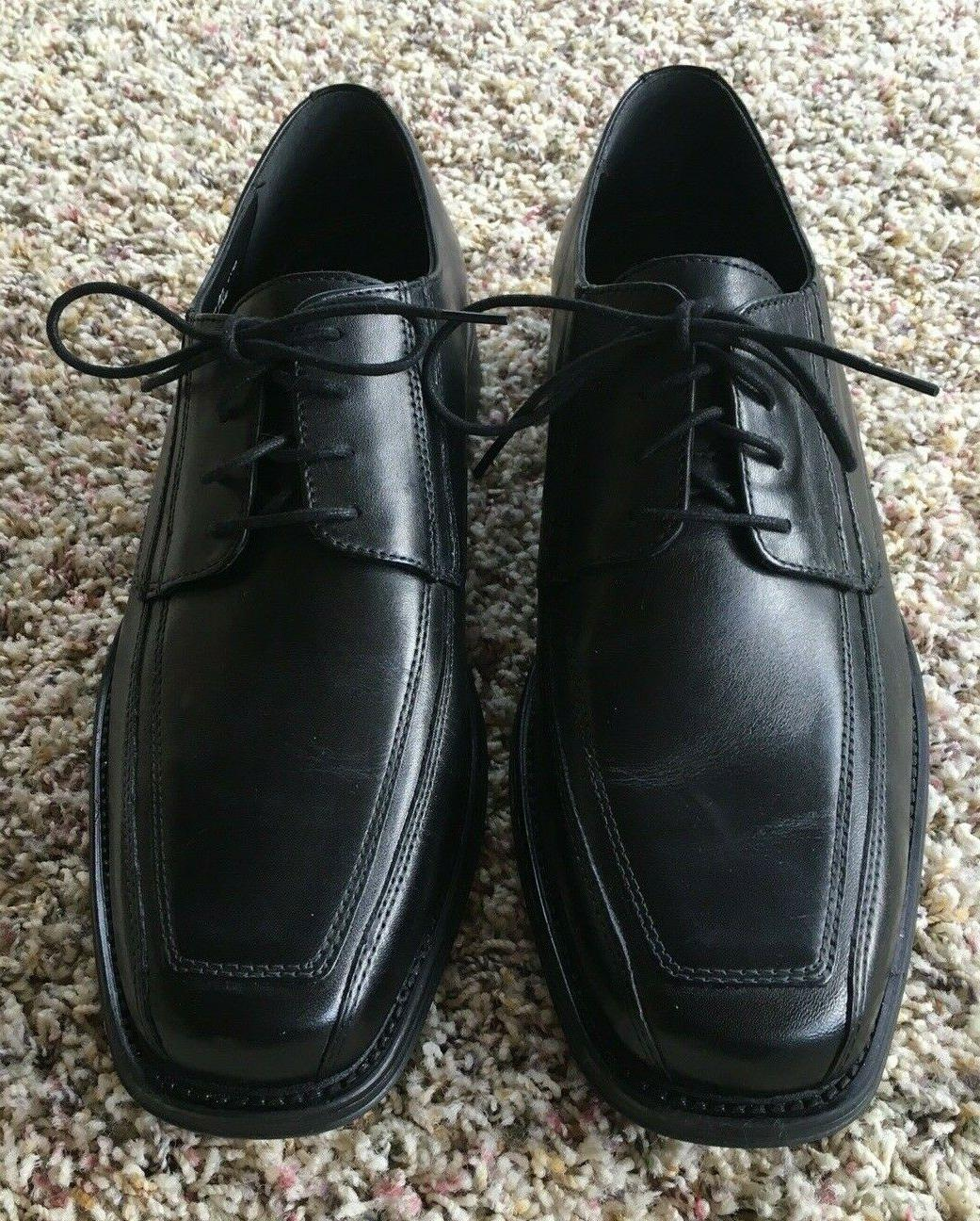 mens black leather oxford shoes 9 5