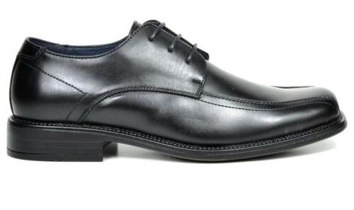 BRUNO MARC NEW Mens Black Square Toe Business Dress Shoes