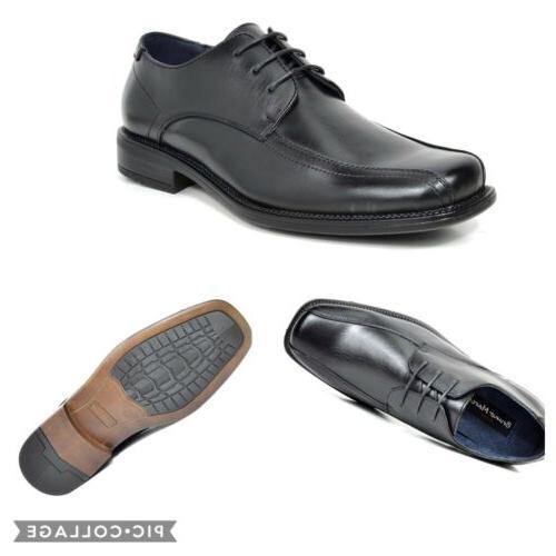 mens black oxford square toe classic business