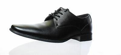 Calvin Klein Mens Brodie Black Oxford Dress Shoe Size 8