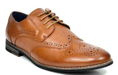 Bruno Shoes Casual Leather Oxford Shoes