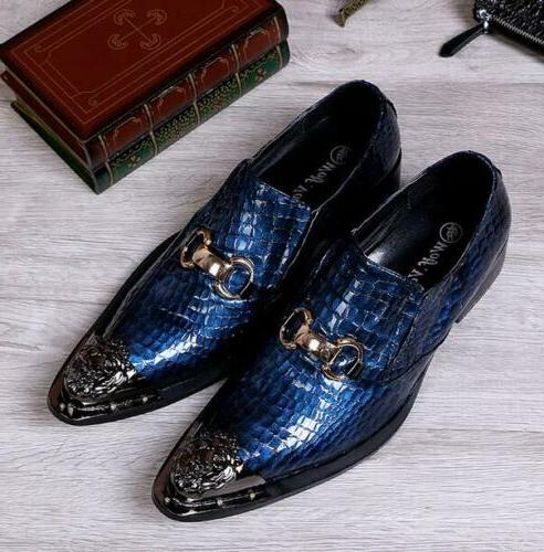 Mens Toe Formal Party Loafers