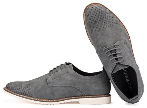 Mens Shoes Suede Oxford Business Dress for A