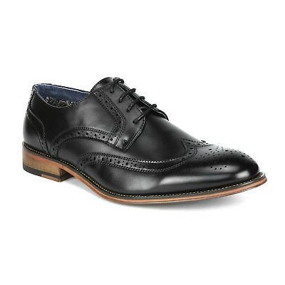 Bruno Marc Oxford Shoes Lace Wingtip Business