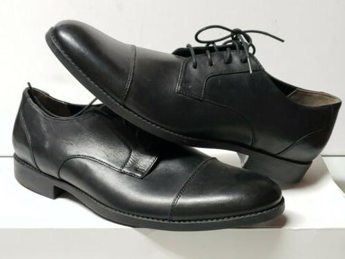 mens dress shoes leather garian cap size