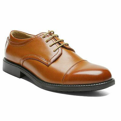 Bruno MARC Mens Shoes Up Leather Business Dress Shoes