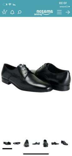 Salvatore Men's Black Oxford 6 EEE