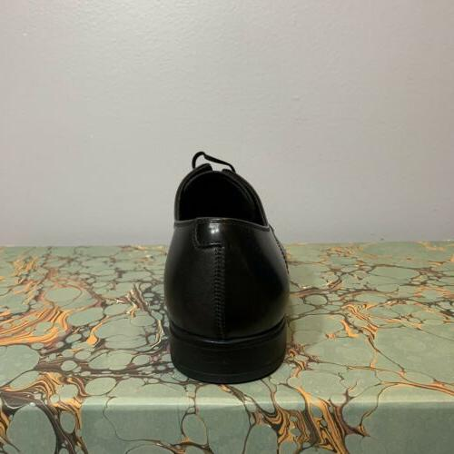 Salvatore Ferragamo Black Oxford Dress Shoes 6 EEE