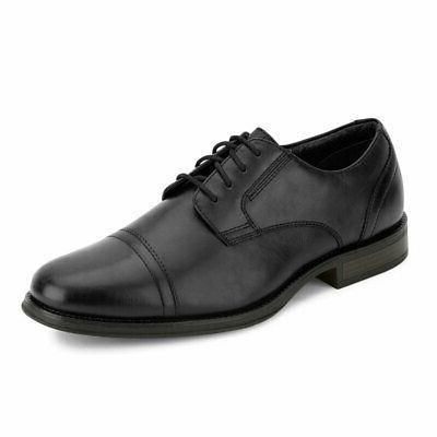 mens garfield business dress cap toe oxford