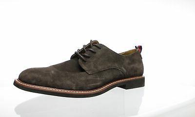 mens garson brown suede oxford dress shoe
