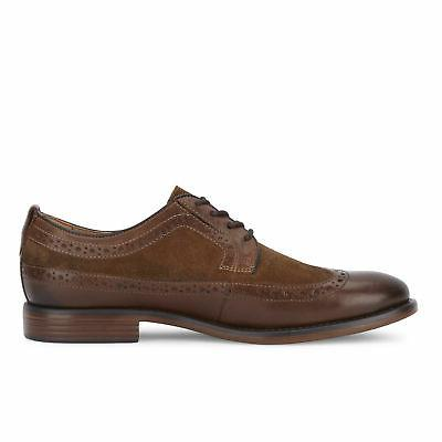 Dockers Mens Genuine Leather Dress Wingtip Lace-up