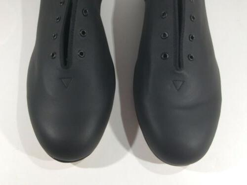 BLOCH Black Leather Jazz Dance Shoes Size